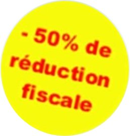 50% deduction impots